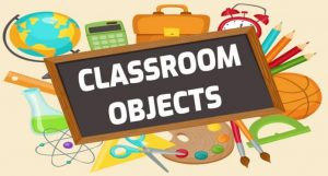 do dung trong lop classroom objects