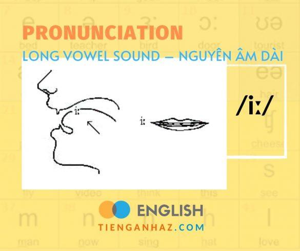 Pronunciation | Long vowel - Nguyên âm dài /i:/