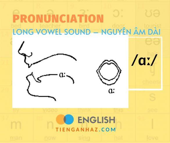 Pronunciation   Long vowel sound – Nguyên âm dài /ɑː/