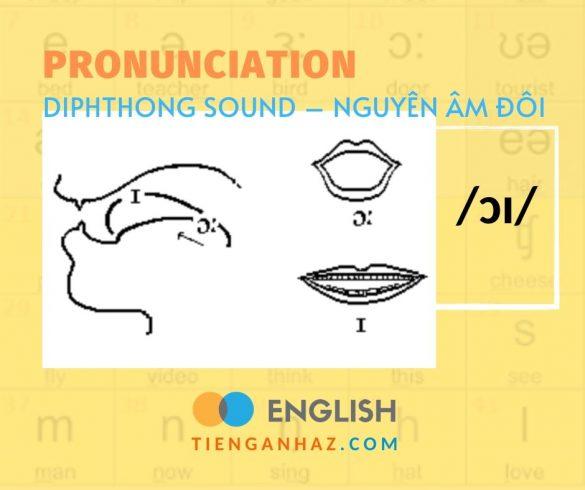 Pronunciation   Diphthong sound - Nguyên âm đôi /ɔɪ/