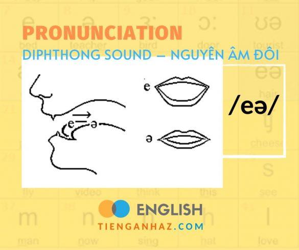 Pronunciation   Diphthong sound - Nguyên âm đôi /eə/