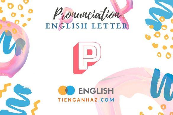 English letter P - tienganhaz.com