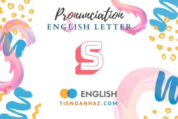 English letter S - tienganhaz.com
