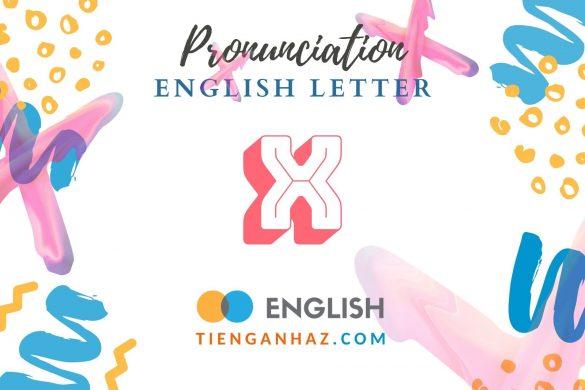 English letter X - tienganhaz.com